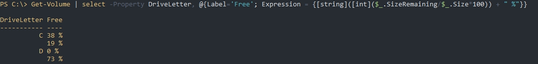 Пример с Expression Powershell Select-Object